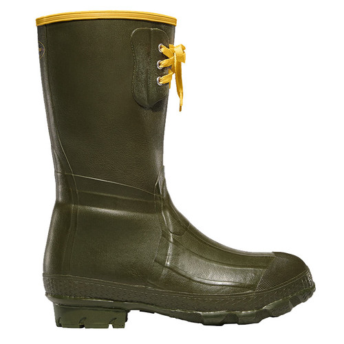 "LaCrosse ZRT Rubber 12"" Insulated Green Pac Boots"
