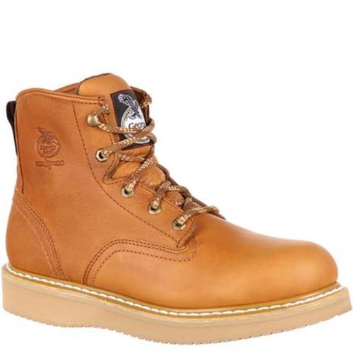 Georgia G6342 FARM & RANCH Steel Toe Non-Insulated Wedge Work Boots