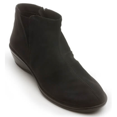 Arcopedico LUANA MT Black Wedge Booties