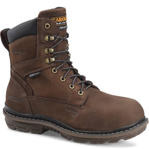 "Carolina CA8556 DORMITE 8"" 600g Insulated Composite Toe Work Boots"