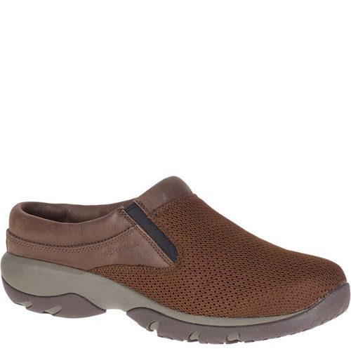Merrell J90489 Men's ENCORE REXTON SLIDE VENT AC+ Dark Earth Brown