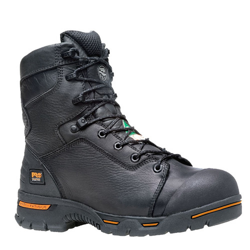"Timberland PRO 95567001 ENDURANCE 8"" Steel Toe Puncture Resistant Waterproof Work Boots"