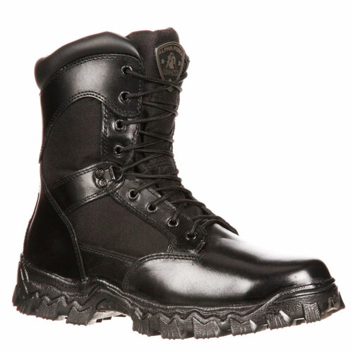 Rocky Women's FQ0006173 ALPHAFORCE Tactical Boots Composite Toe Non-Insulated with Zipper