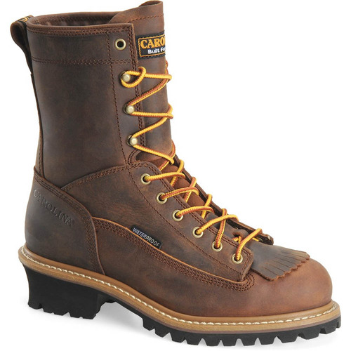 Carolina CA9824 SPRUCE Steel Toe Lace-to-Toe Logger Boots