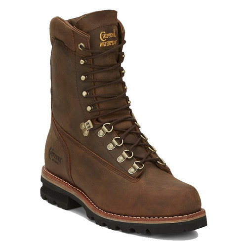 "Chippewa 25494 IMPORTED WEDDELL 9"" ARCTIC 50 Soft Toe Bay Apache Work Boots"