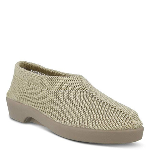 Plumex SOFT KNIT HOUSE SHOE Taupe