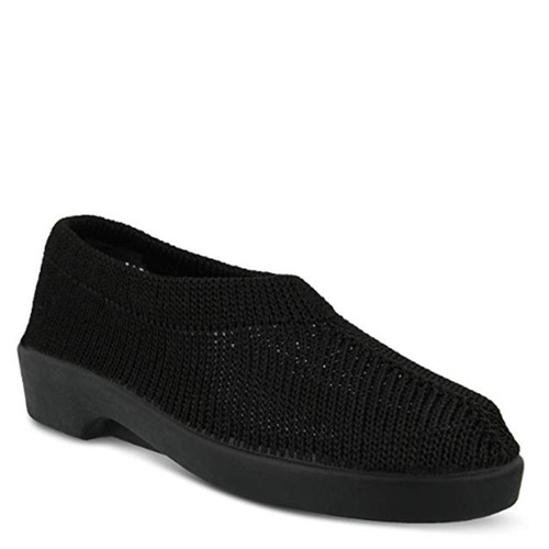 Plumex SOFT KNIT HOUSE SHOES Black