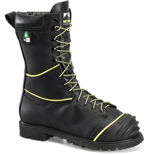 "Matterhorn CV12000 USA Steel Toe Met Guard 200g Insulated Lace-to-Toe 10"" Mining Boots"