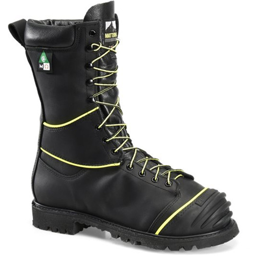 "Matterhorn CV12000 USA Steel Toe Met Guard 200g Insulated Lace-to-Toe 10"" Mining Boots"