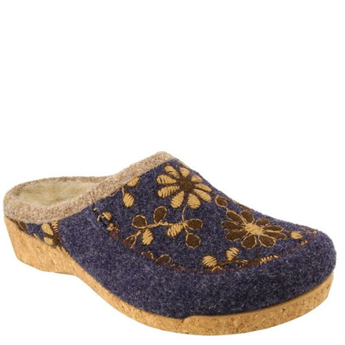 Taos WOOLDERNESS 2 Navy Clogs