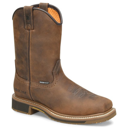 Carolina CA8036 ANCHOR Soft Toe Non-Insulated Square Toe Roper Boots