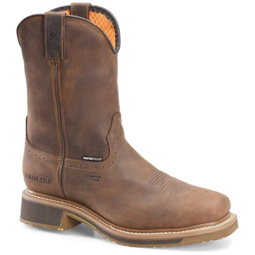Carolina CA8536 ANCHOR Composite Toe Non-Insulated Square Toe Roper Boots