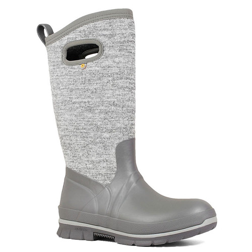 BOGS 72418-062 CRANDAL TALL KNIT Gray Winter Boots