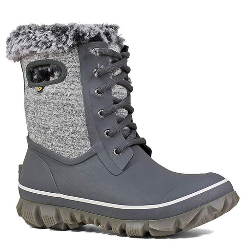 BOGS 72404-009 ARCATA KNIT Gray Winter Boots