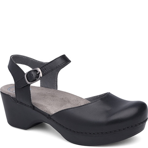 Dansko SAM Black Open Back Mary Jane Shoes
