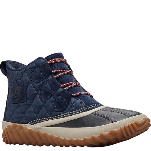 Sorel 1834101-464 OUT 'N ABOUT PLUS QUILTED Navy Boots