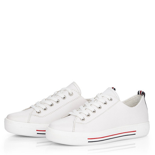 Remonte by Rieker D0900 White Fashion Sneakers
