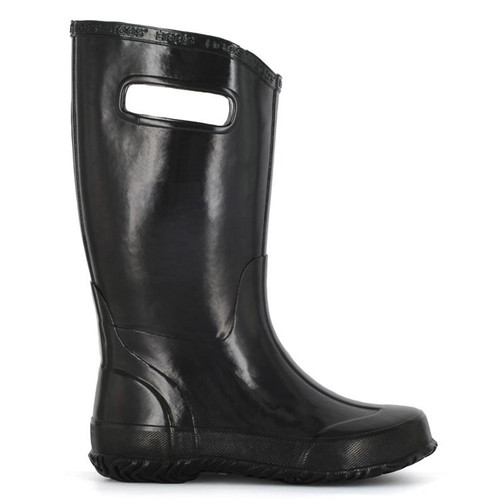 BOGS 71325-001 KIDS' RAINBOOT SOLID Black