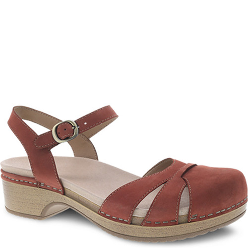 Dansko BETSEY CINNAMON Closed Toe Sandals