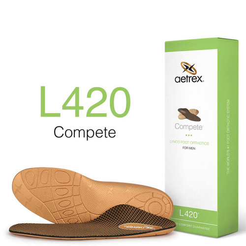 Aetrex L420M Men's COMPETE POSTED Orthotics Box