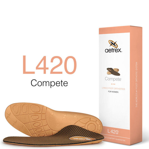 Aetrex L420W Women's COMPETE POSTED Orthotics Box