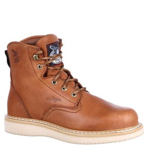 Georgia G6152 Soft Toe Wedge Work Boots