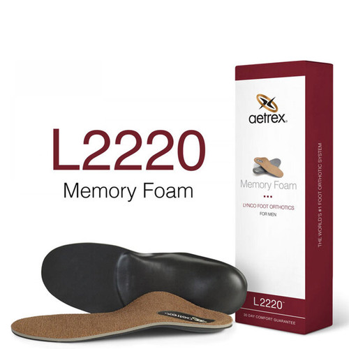 Aetrex L2220M Men's MEMORY FOAM POSTED Orthotics