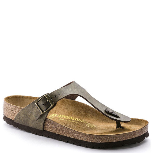 Birkenstock GIZEH BIRKO-FLOR Golden Brown Sandals