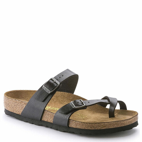 Birkenstock Women's MAYARI BIRKO-FLOR Graceful Licorice Sandals