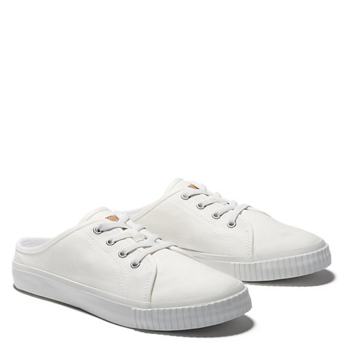 Timberland A25JC100 SKYLA BAY MULE SNEAKERS White Canvas