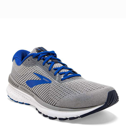 Brooks 110307 Men's ADRENALINE GTS 20 Road Running Shoes Grey Blue Navy