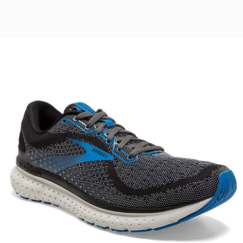 Brooks 110329 Men's GLYCERIN 18 Road Running Shoes Black Ebony Blue