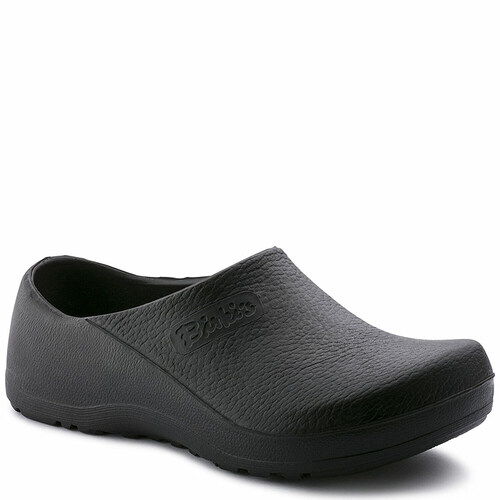 Birkenstock 74011 Men's PROFI-BIRKI Black Non-Slip Clogs