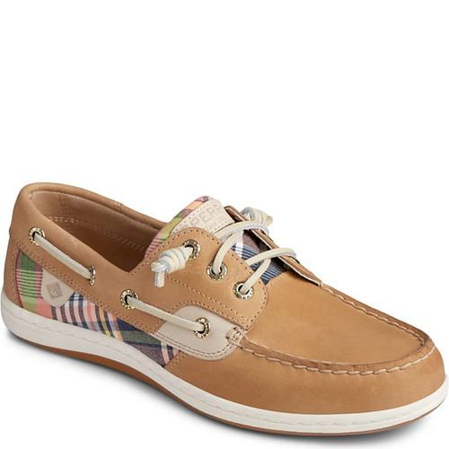 Sperry STS85204 SONGFISH WASHED PLAID Boat Shoes