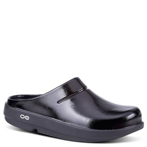 Oofos 1201 Women's OOCLOOG Luxe Clogs Black