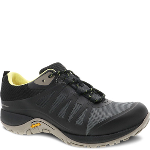 Dansko PHYLICIA Black Mesh Walking Shoes