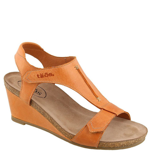 Taos SHEILA Cantelope Wedge Sandals