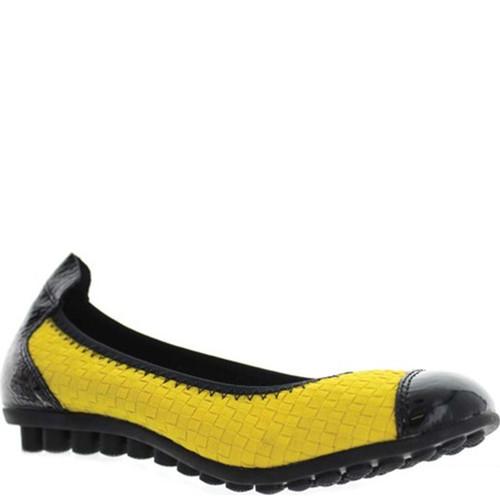 Bernie Mev BELLA ME Yellow Flats