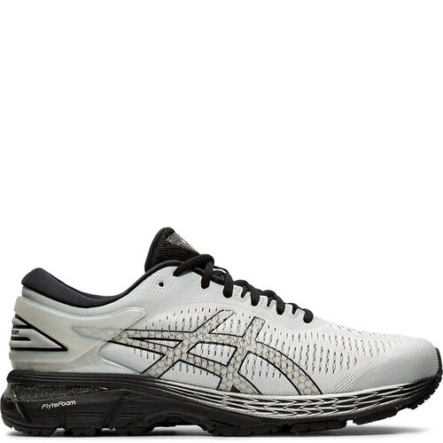 ASICS 1011A019.021 Men's GEL KAYANO 25 Running Shoes Glacier Grey Black