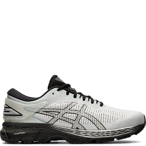 ASICS GEL KAYANO 25 Road-Running Shoes Glacier Grey Black