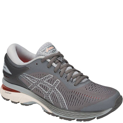 ASICS 1012A026.020 Women's GEL KAYANO 25 Running Shoes Carbon Mid Grey