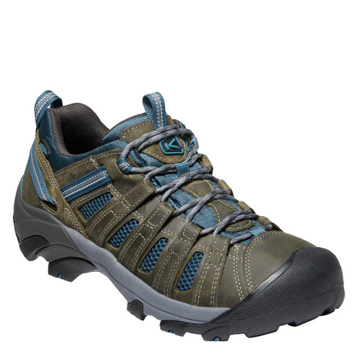 Keen 1018937 VOYAGEUR Hiking Shoes Alcatraz Legion Blue