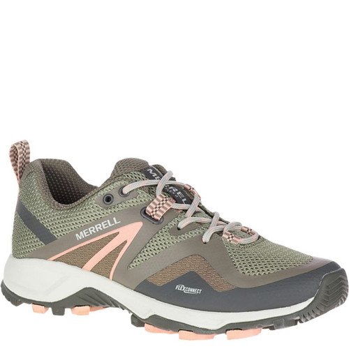 Merrell J034276 Women's MQM FLEX 2 Trail Runner Hiking Shoes Grey Brindle