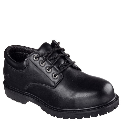 Skechers 77041 Men's COTTONWOOD ELKS Slip Resistant Work Shoes