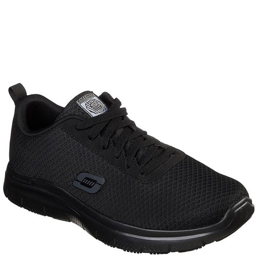 Skechers 77125 Men's FLEX ADVANTAGE BENDON Slip Resistant Work Shoes