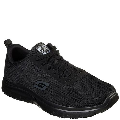 Skechers 77125 FLEX ADVANTAGE BENDON Slip Resistant Work Shoes