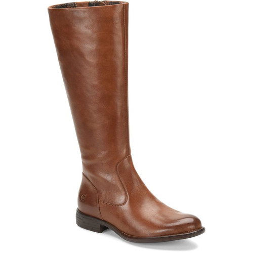 Born F71006 NORTH Luggage Brown Tall Fashion Boots