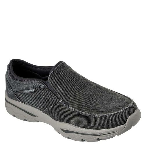 Skechers 65355 Men's Slip-on CRESTON MOSECO Charcoal Shoes