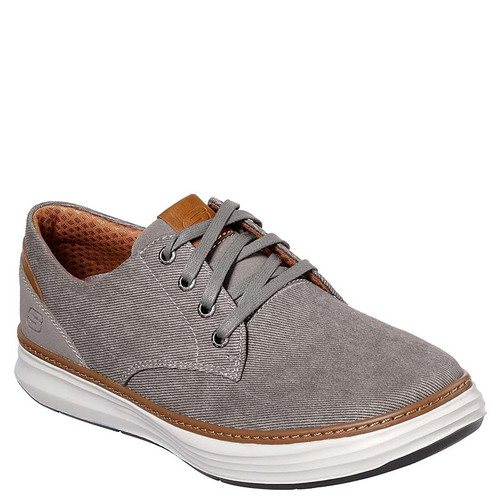 Skechers 65981 MORENO EDERSON Canvas Sneakers Taupe