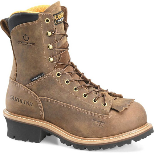 Carolina CA9828 DRILLER  Composite Toe Non-Insulated Lace-to-Toe Loggers
